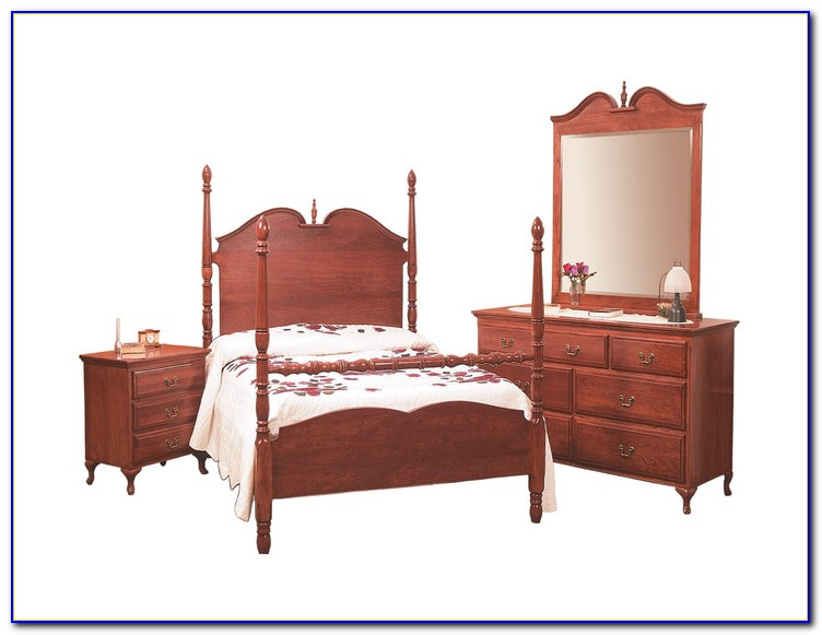 Queen Anne Bedroom Furniture Cherry