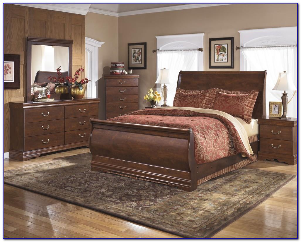 Queen Size Sleigh Bedroom Set