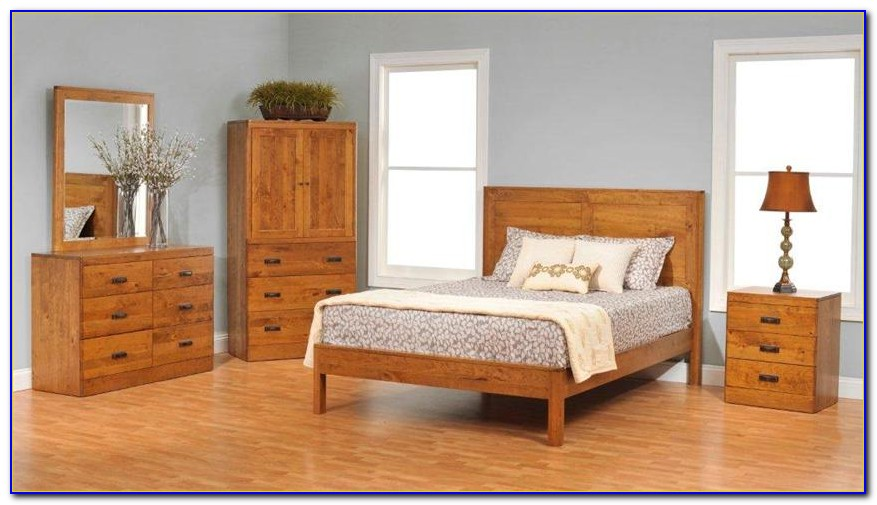 Real Wood Bedroom Furniture Sets