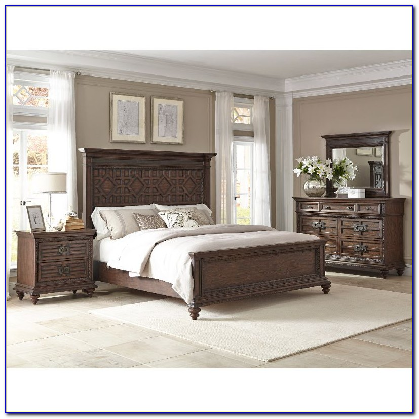 Rustic California King Bedroom Set