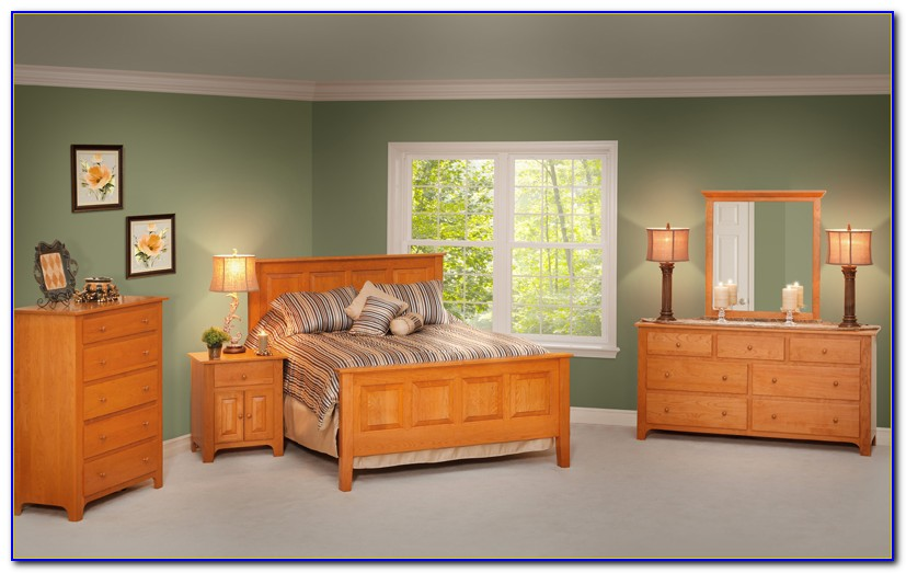 Shaker Style Bedroom Furniture Cherry