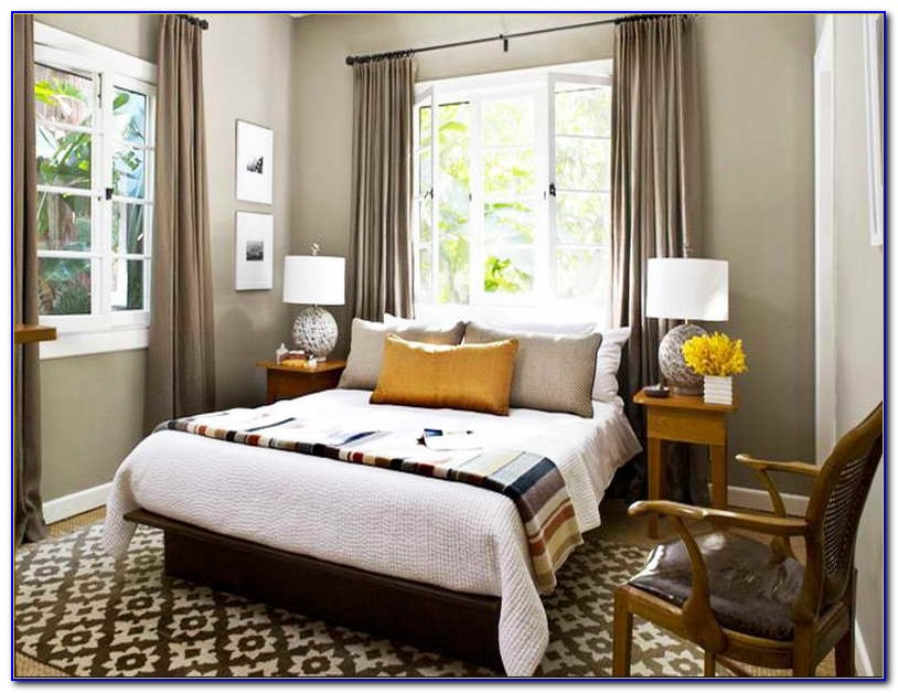 Simple Bedroom Window Treatment Ideas