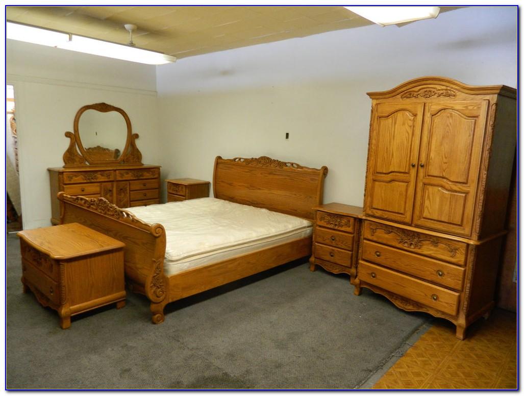 Solid Oak Bedroom Furniture Sets