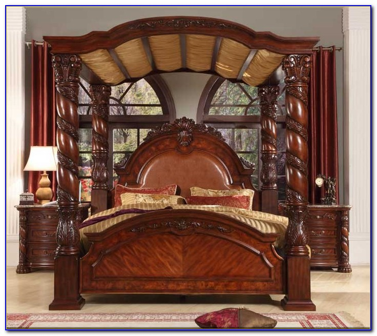 Solid Wood Cal King Bedroom Sets