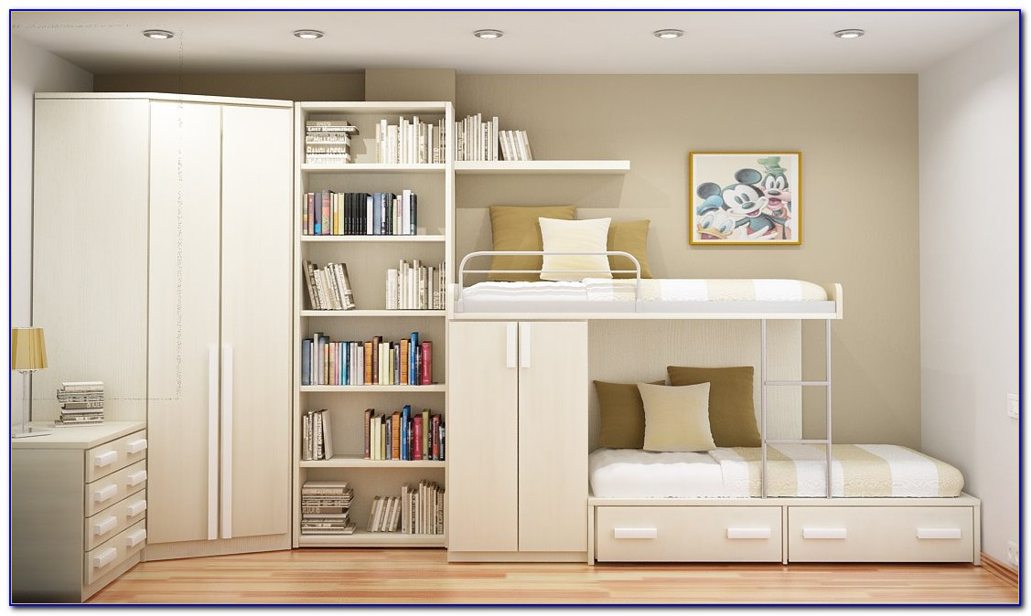 Space Saving Ideas For Small Bedrooms Pinterest