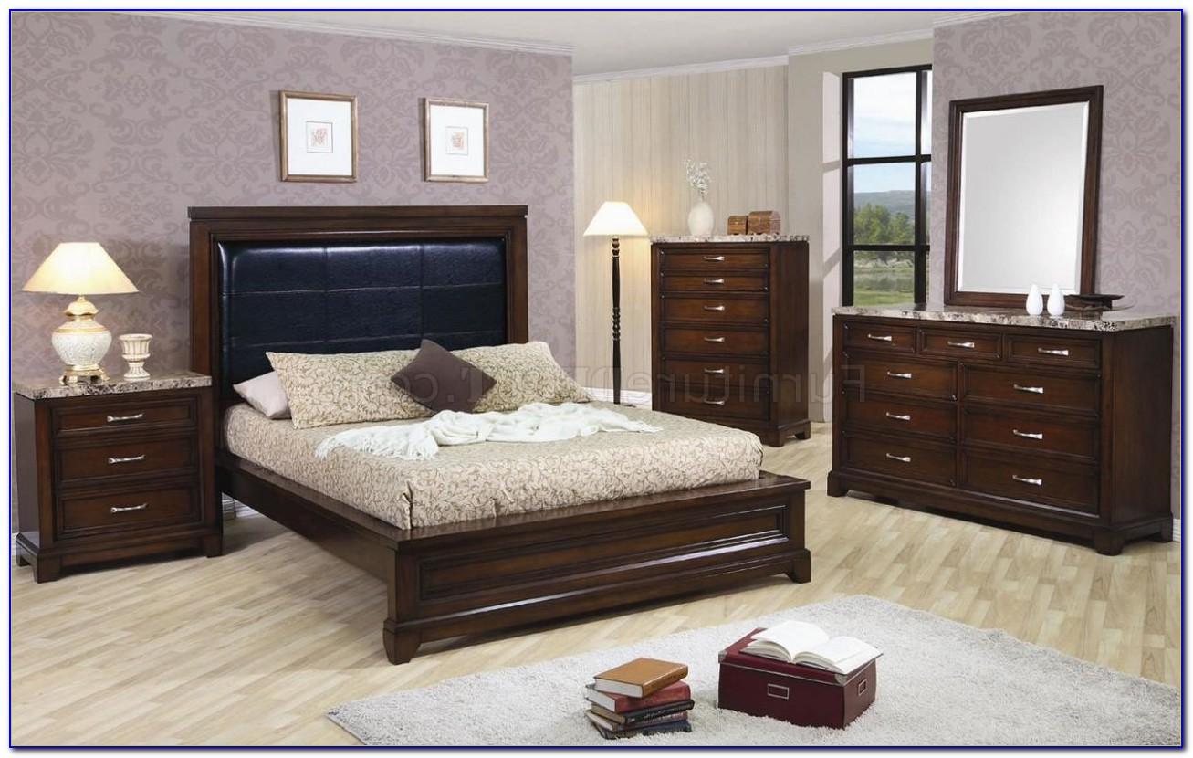 Thomasville Marble Top Bedroom Set