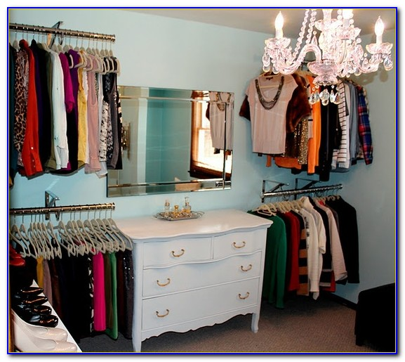 Turning A Room Into A Closet