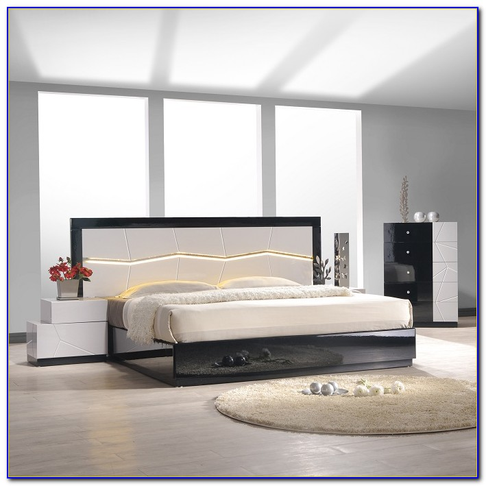 Used Black Lacquer Bedroom Furniture
