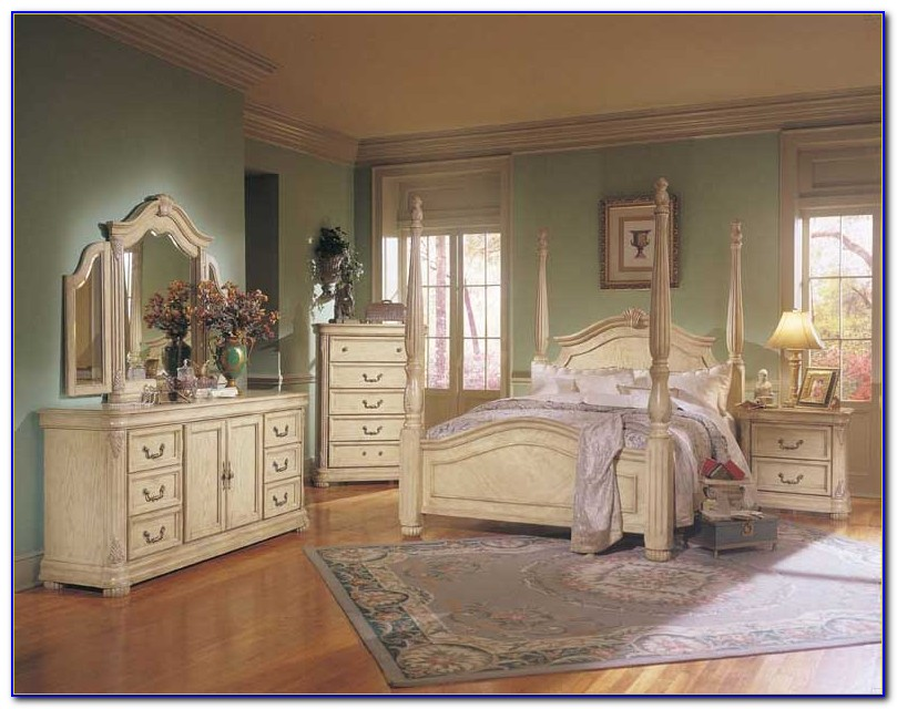 Vintage Off White Bedroom Furniture Bedroom Home Design Ideas