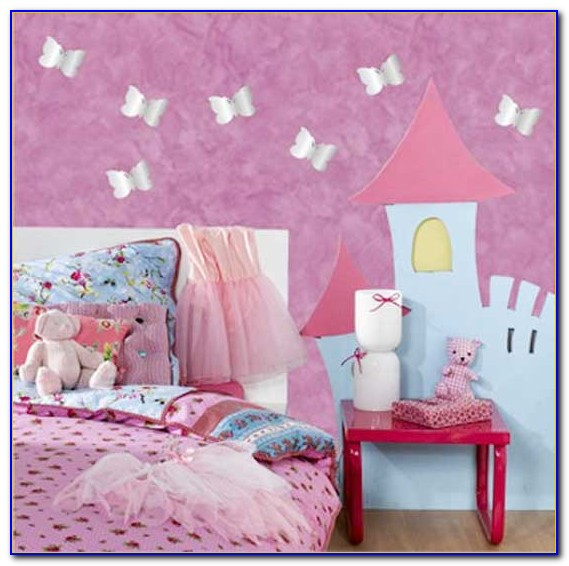 Wall Ideas For Girl Bedroom