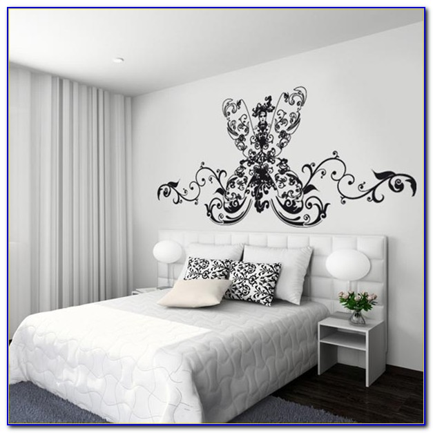 Wall Stickers For Bedrooms Flowers