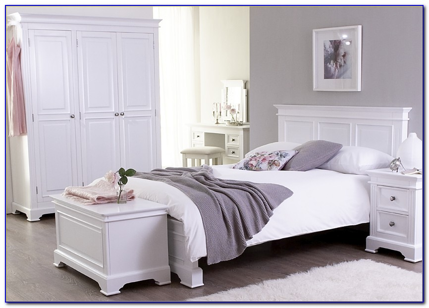 White Contemporary Bedroom Furniture Uk