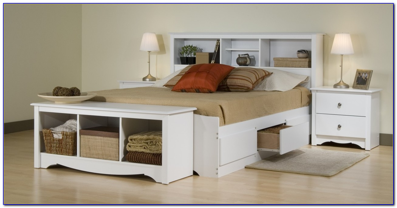 Youth Full Size White Bedroom Sets