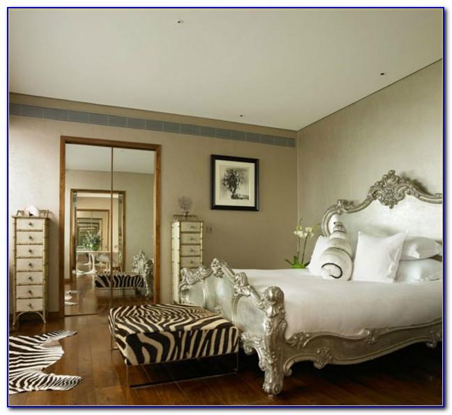 Animal Print Bedroom Design