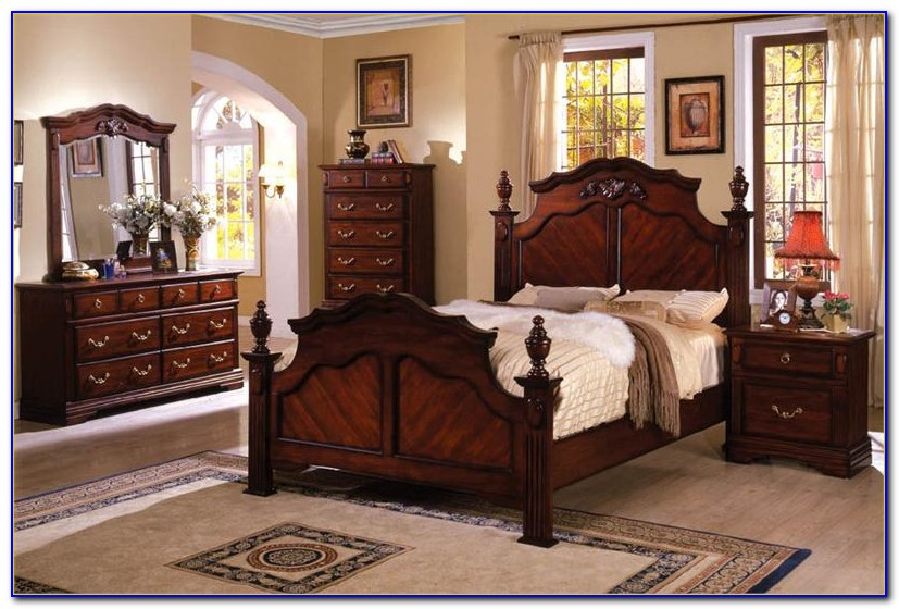 Antique Cherry Wood Bedroom Sets