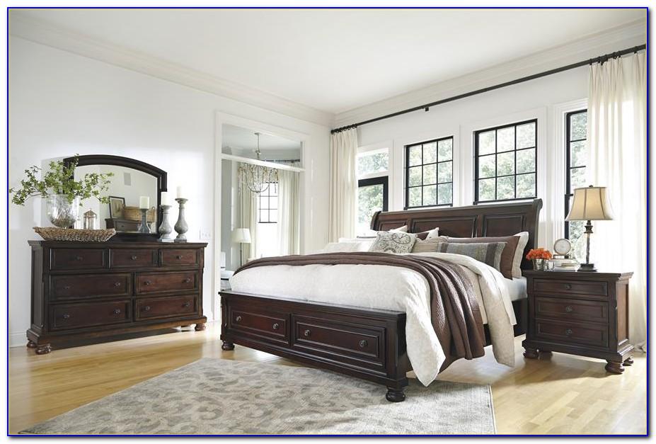 Ashley Porter Queen Bedroom Set Dimensions
