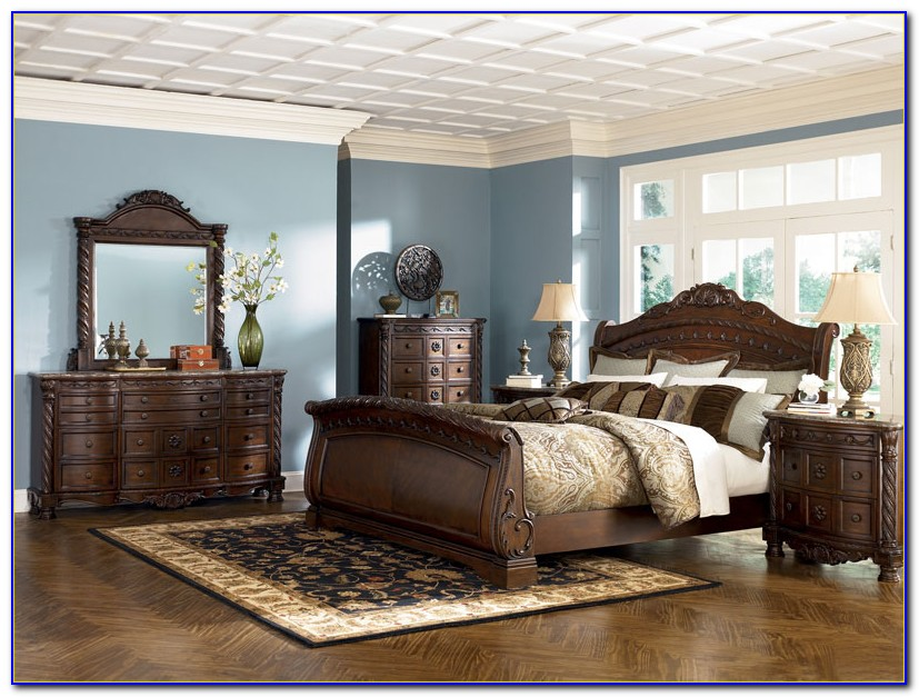 Ashley Shay King Bedroom Set