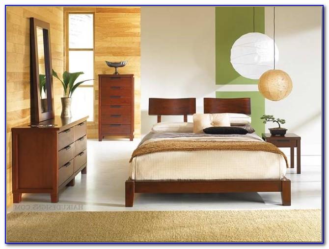 Asian Style Platform Bedroom Sets