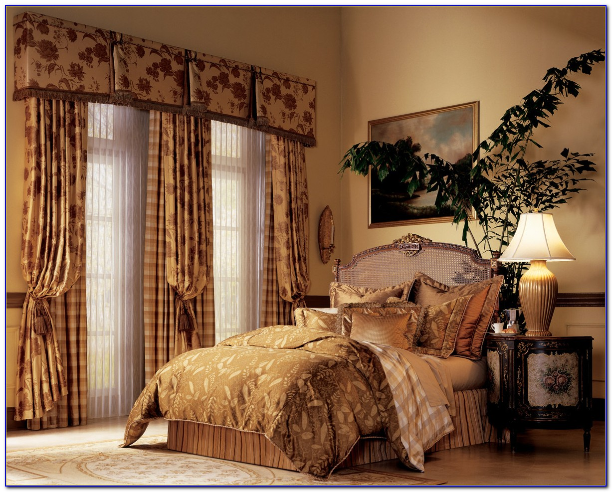 Bedroom Drapes And Curtain Ideas