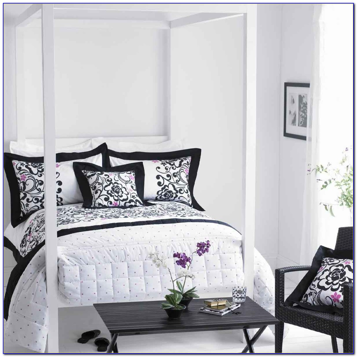 Black And White Bedroom Decor Tumblr