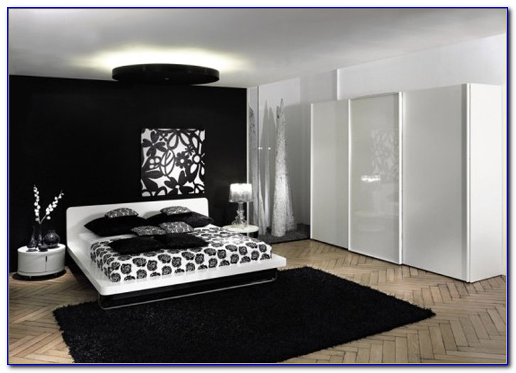Black And White Decor Bedroom Ideas