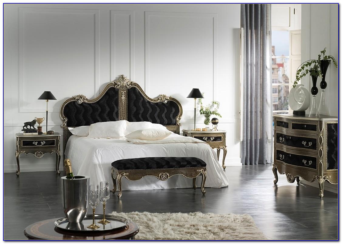 Black French Bedroom Furniture Sets