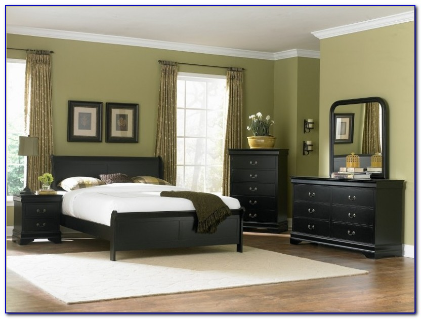Black Furniture Bedroom Ideas Pinterest