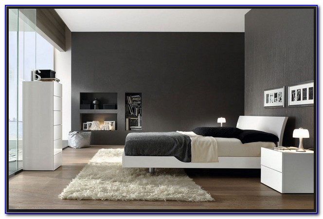 Black Gray And Red Bedroom Ideas