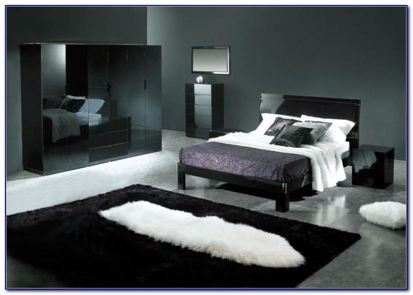 Black White Gray Bedroom Ideas