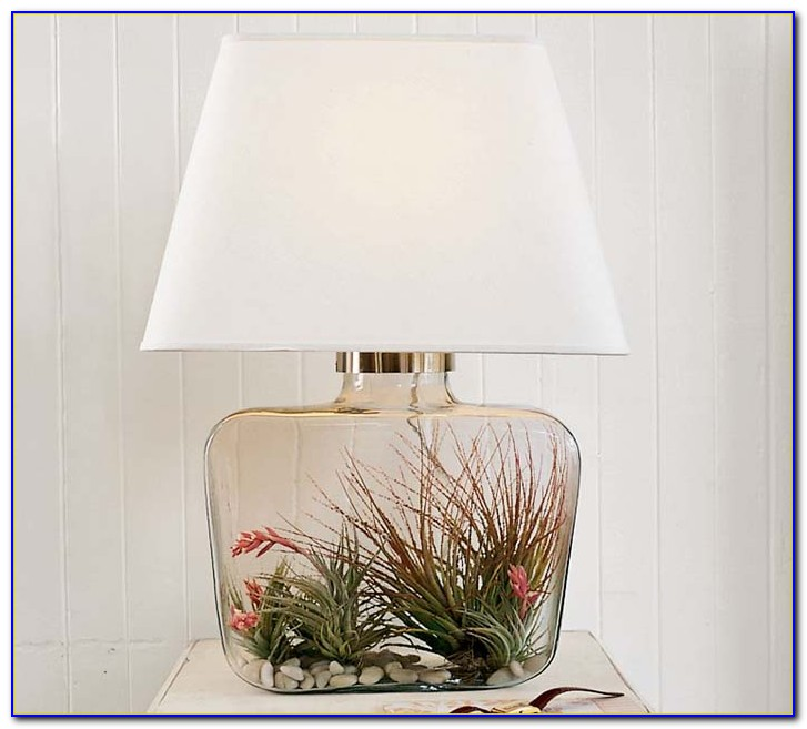 Clear Glass Table Lamps For Bedroom