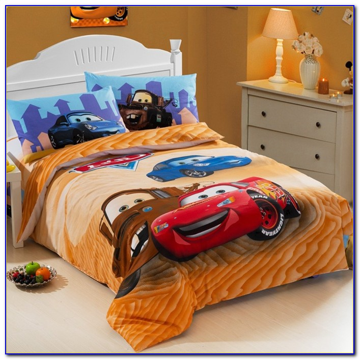 Corvette Race Car Bed Set