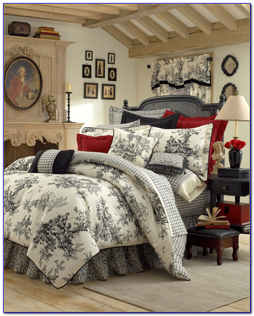 Country French King Bedroom Set