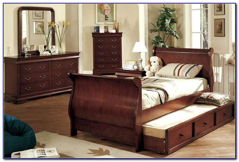 Dark Cherry Bedroom Furniture Sets