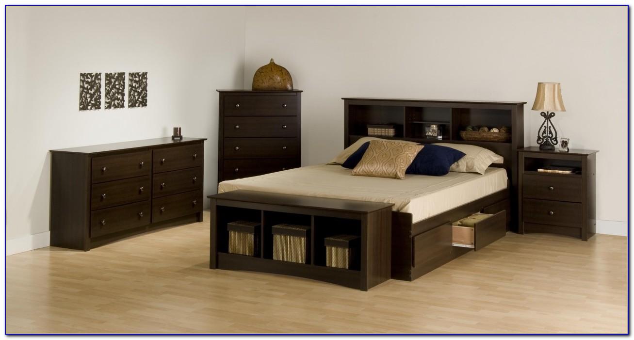 Espresso King Size Bedroom Set
