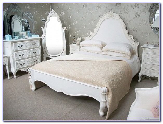 French Cream Bedroom Furniture Sets