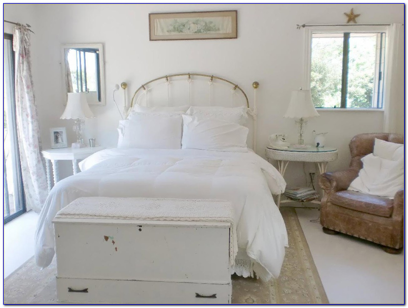 French Shabby Chic Bedroom Set