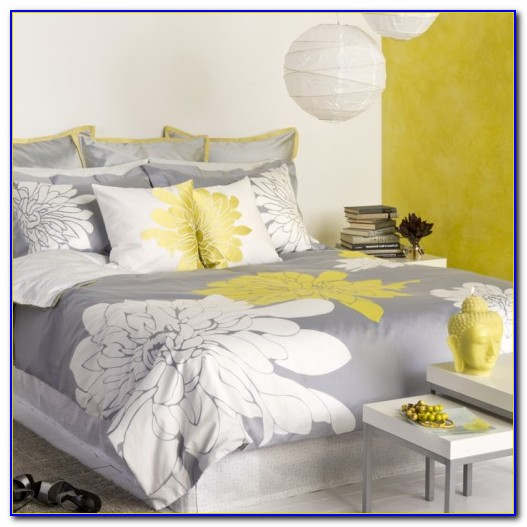 Grey And Yellow Bedroom Paint