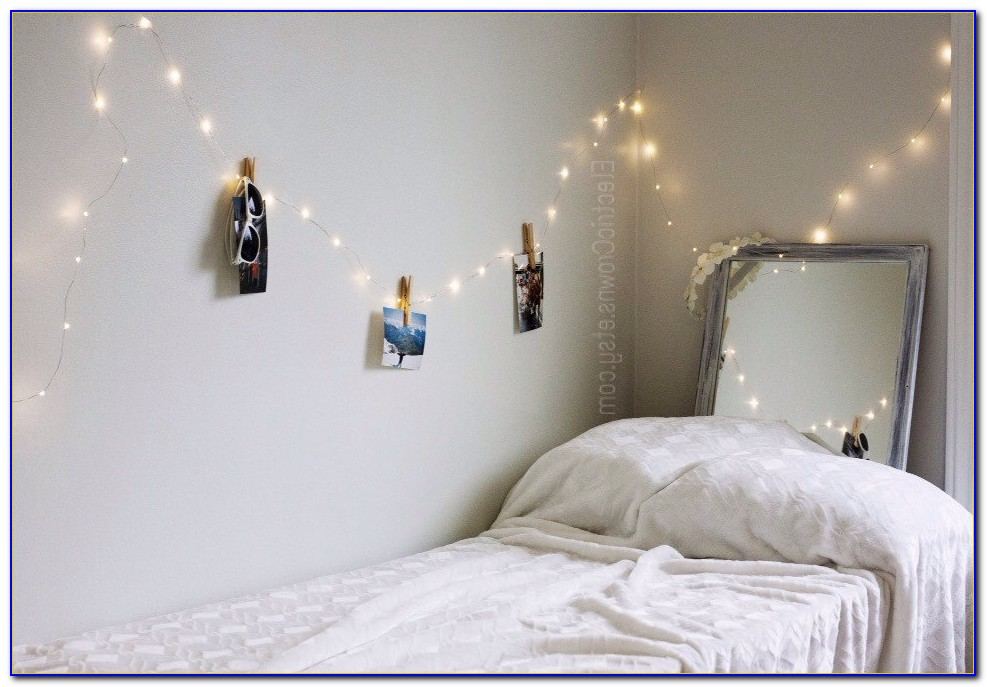 Hanging String Lights For Bedroom