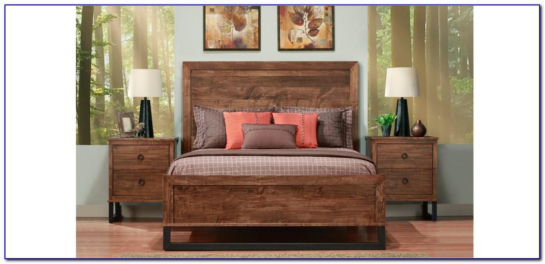 Kling Solid Cherry Bedroom Set