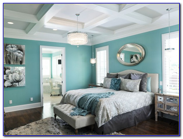 Light Blue Wall Decor