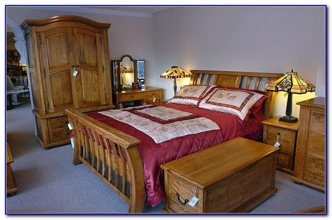 Light Mango Wood Bedroom Furniture