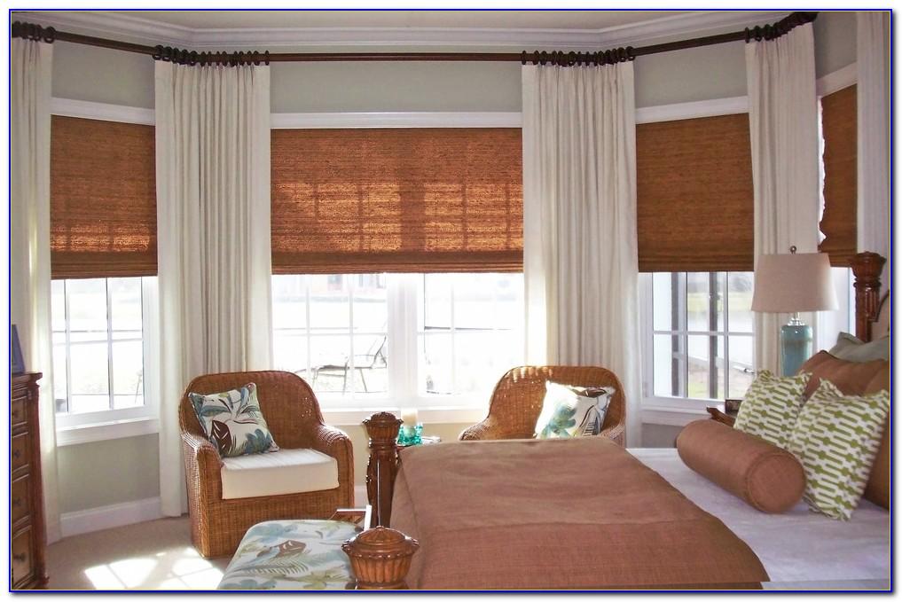 Modern Master Bedroom Window Treatments