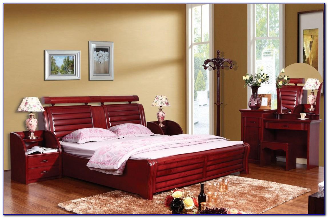 Modern Solid Wood Bedroom Furniture