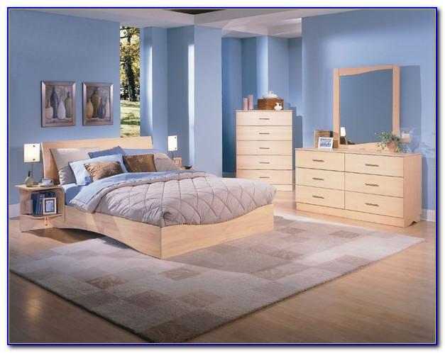Natural Pine Wood Bedroom Furniture