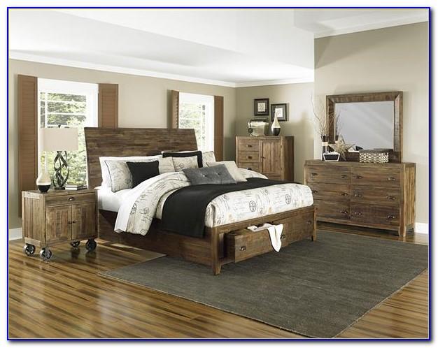 Natural Solid Wood Bedroom Furniture