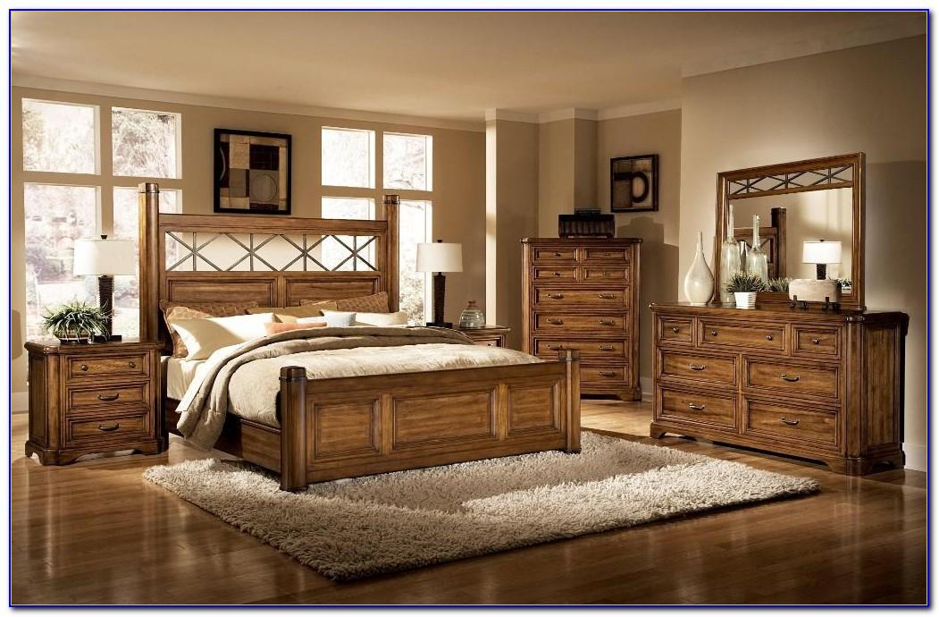 Natural Wood King Bedroom Set
