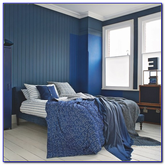 Navy And White Bedroom Curtains