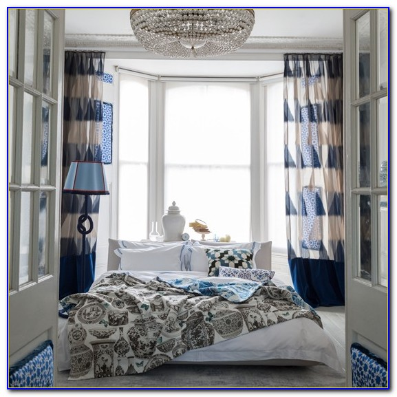 Navy Blue Bedroom Curtains Uk