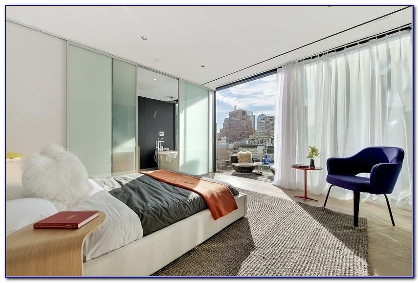 New York Loft Bedroom Design
