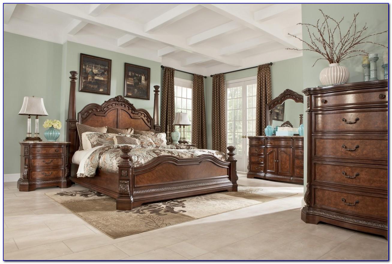 Oak 4 Poster Bedroom Sets